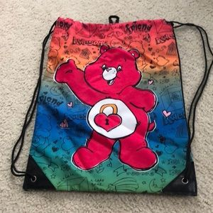 Other - Care bear draw string bag